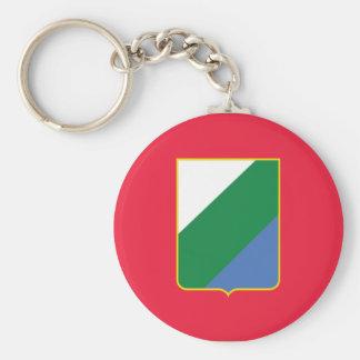 Abruzzo bandiera, Italy Keychains