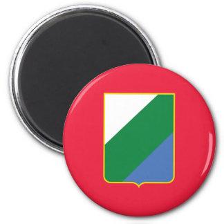 Abruzzo bandiera, Italy Fridge Magnet