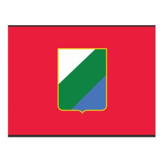 Abruzzo bandiera, Italy Post Card