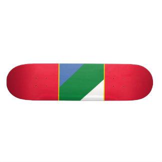 Abruzzo bandiera, Italy Skate Board Decks