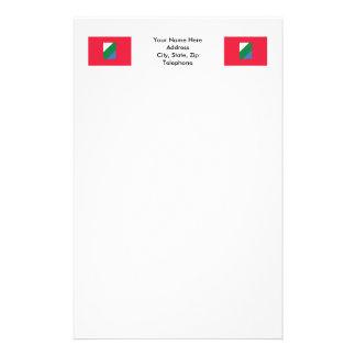 Abruzzo flag stationery