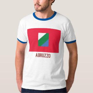 Abruzzo flag with name t shirt