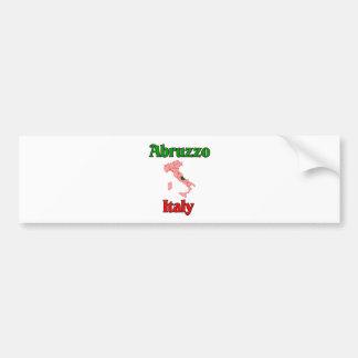 Abruzzo Italy Bumper Sticker