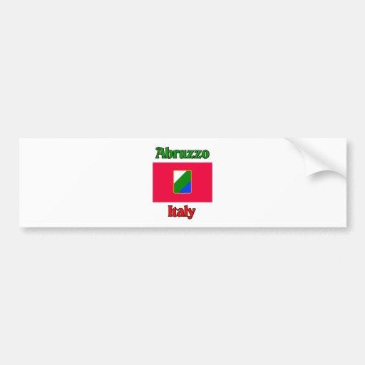 Abruzzo Italy Car Bumper Sticker