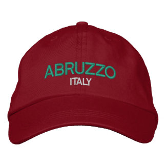 Abruzzo Italy Embriodered Hat