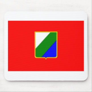 Abruzzo Italy Flag Mousepad