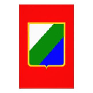 Abruzzo (Italy) Flag Stationery Paper