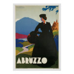 Abruzzo Italy Vintage Posters