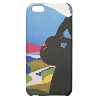 Abruzzo, Italy Vintage Travel Advertising  Case For iPhone 5C