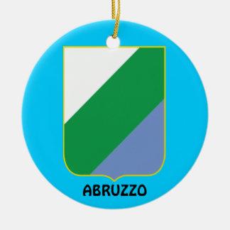 Abruzzo Region Cristmas Ornament