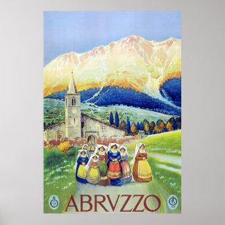 Abruzzo ~ Vintage Italian Travel. Posters
