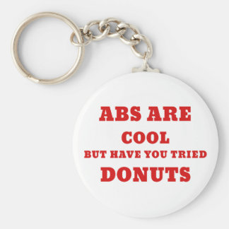 Abs are Cool but have you tried Donuts Keychain