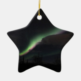 ABS Aurora Borealis Streamer Ceramic Ornament