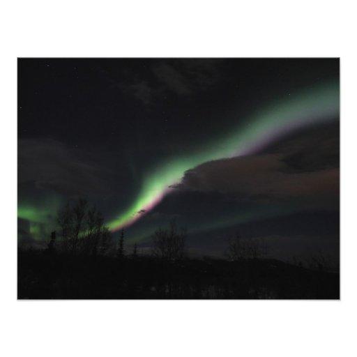 ABS Aurora Borealis Streamer Art Photo