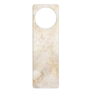 [ABS-BEI-1] Beige marble speckle Door Hanger