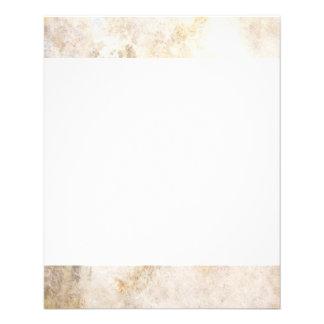 "[ABS-BEI-1] Beige marble speckle 4.5"" X 5.6"" Flyer"