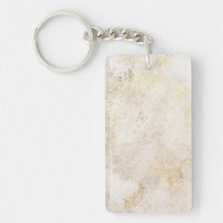 [ABS-BEI-1] Beige marble speckle Keychain