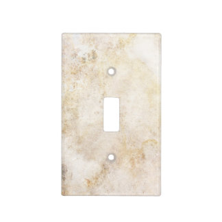 [ABS-BEI-1] Beige marble speckle Light Switch Cover