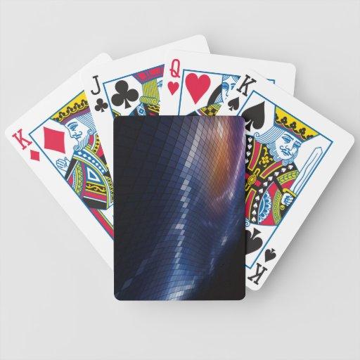 ABS del Abstracto-Cuadrado-Pixel-Mosaico-Vector-Fo Baraja De Cartas