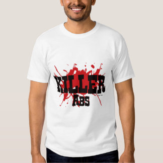 ABS del asesino, camisa del músculo unisex