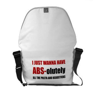 ABS Pasta Breadsticks Messenger Bag