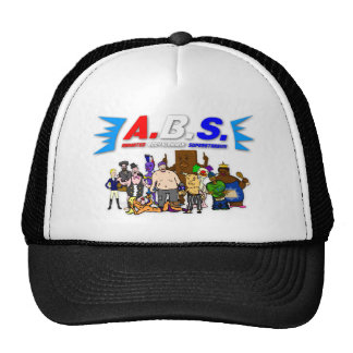 ABS WRESTLING!!! MESH HATS