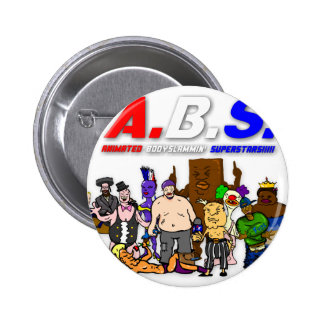 ABS WRESTLING!!! PINBACK BUTTON