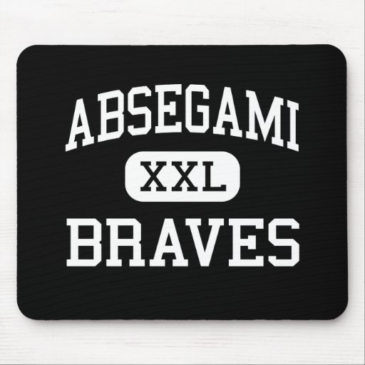 Absegami - Braves - High - Galloway New Jersey Mouse Pad