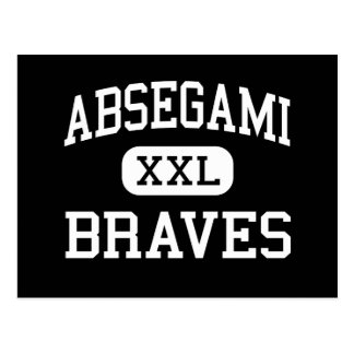 Absegami - Braves - High - Galloway New Jersey Postcard
