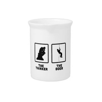 Abseiling Beverage Pitchers