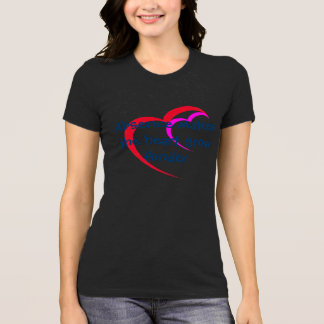 Absence makes heart grow valentine's day t-shirt