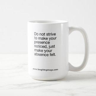Absence Mug