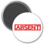 Absent Stamp Magnet