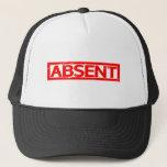 Absent Stamp Trucker Hat