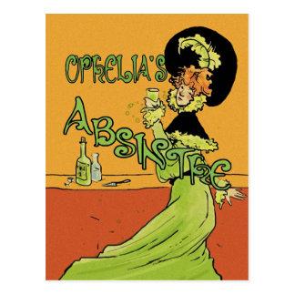 Absinthe 1890s Style Postcard