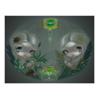 Absinthe : Anise and Artemisia ART PRINT fairy