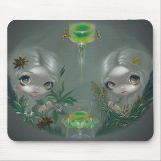 """Absinthe: Anise and Artemisia"" Mousepad"