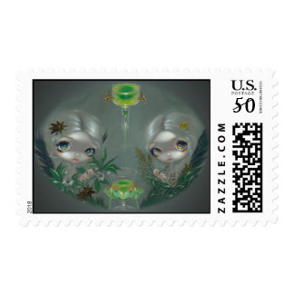 """""""Absinthe: Anise and Artemisia"""" Stamp"""