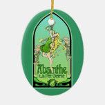 Absinthe Art Nouveau Ornaments