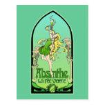 Absinthe Art Nouveau Post Card