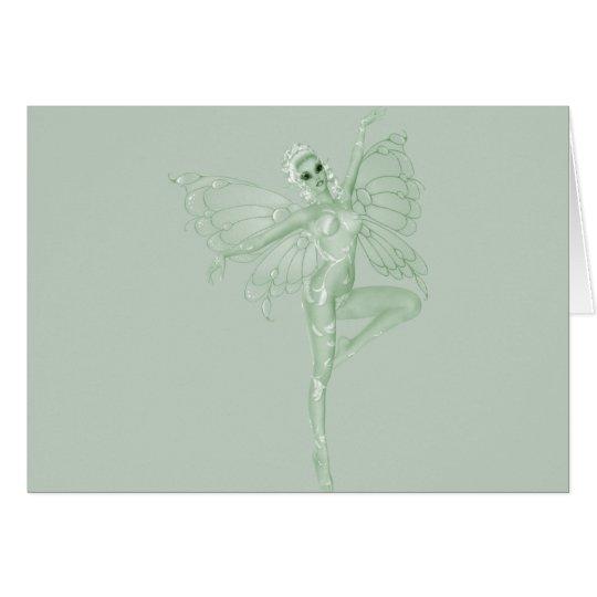 Absinthe Art Signature Green Fairy 11 Card