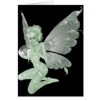 Absinthe Art Signature Green Fairy 13A Card