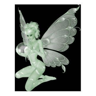 Absinthe Art Signature Green Fairy 13A Postcard