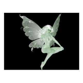 Absinthe Art Signature Green Fairy 1A Postcard