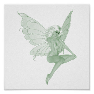 Absinthe Art Signature Green Fairy 1A Posters