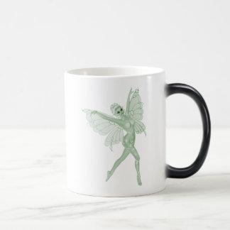 Absinthe Art Signature Green Fairy 3B 11 Oz Magic Heat Color-Changing Coffee Mug
