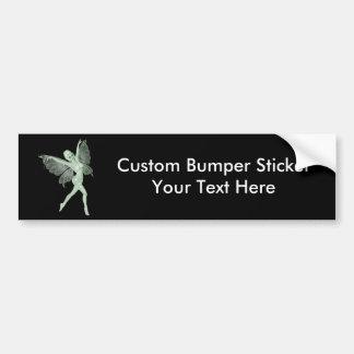 Absinthe Art Signature Green Fairy 3B Bumper Sticker