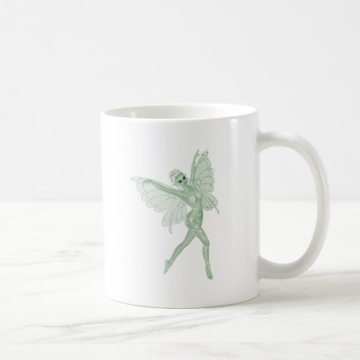 Absinthe Art Signature Green Fairy 3B Coffee Mug