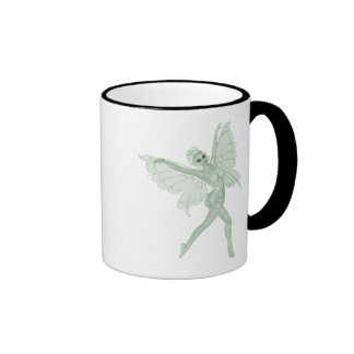 Absinthe Art Signature Green Fairy 3B Ringer Coffee Mug