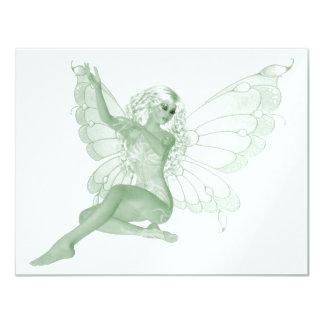 Absinthe Art Signature Green Fairy 4 Card